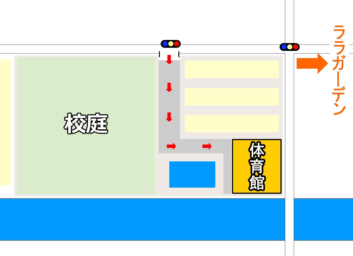 戸二小の地図